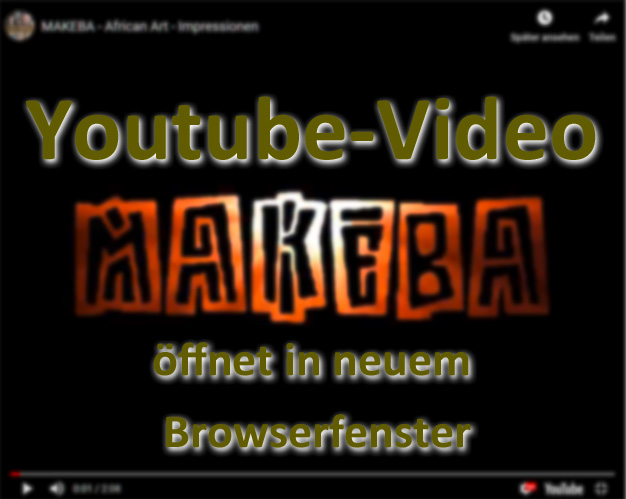 Werbe Video Makeba African Art @YouTube